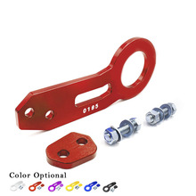 High quality Universal Billet Aluminum Racing Rear Tow Hook (red,blue,black,silver,purple,golden)/Towing Bars