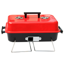 New Folding barbecue stove outdoor portable barbecue grill outdoor home charcoal burning stove thickening
