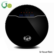 New Design remote control Wet And Dry Vacuum Cleaner Robot With big dust box Capacity,UV lamp mite killed,Anti-falling cleaner(China)