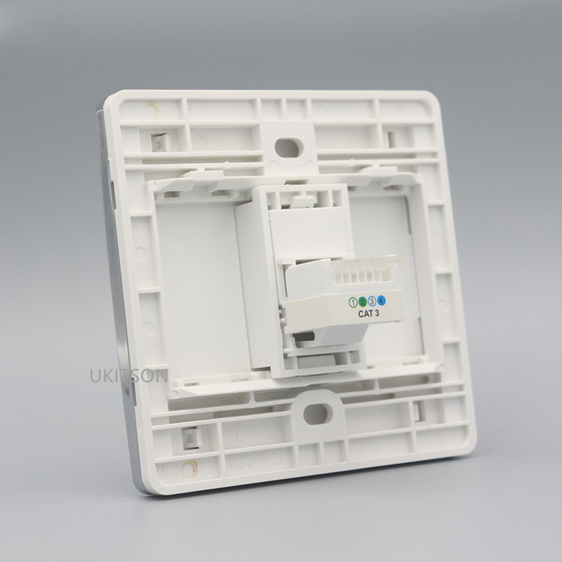 One Socket RJ11 Wall Panel pic 3