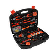 WALFRONT 1 Set 102pcs in 1 Household Tools Garden Home Repair Tool Set Kit Box Hard DIY Handy Case Hand Tool Set(China)