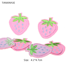 Buy TIANXINYUE Brand Patches 20pcs/lot Strawberry patch iron patch Motif sew iron Applique DIY accessory for $4.65 in AliExpress store