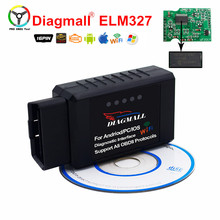 Buy Diagmall Universal ELM327 Wifi Wireless Auto Car Diagnostic Tester WIFI ELM 327 OBDII Scanner Wifi ELM327 Android / IOS for $6.86 in AliExpress store
