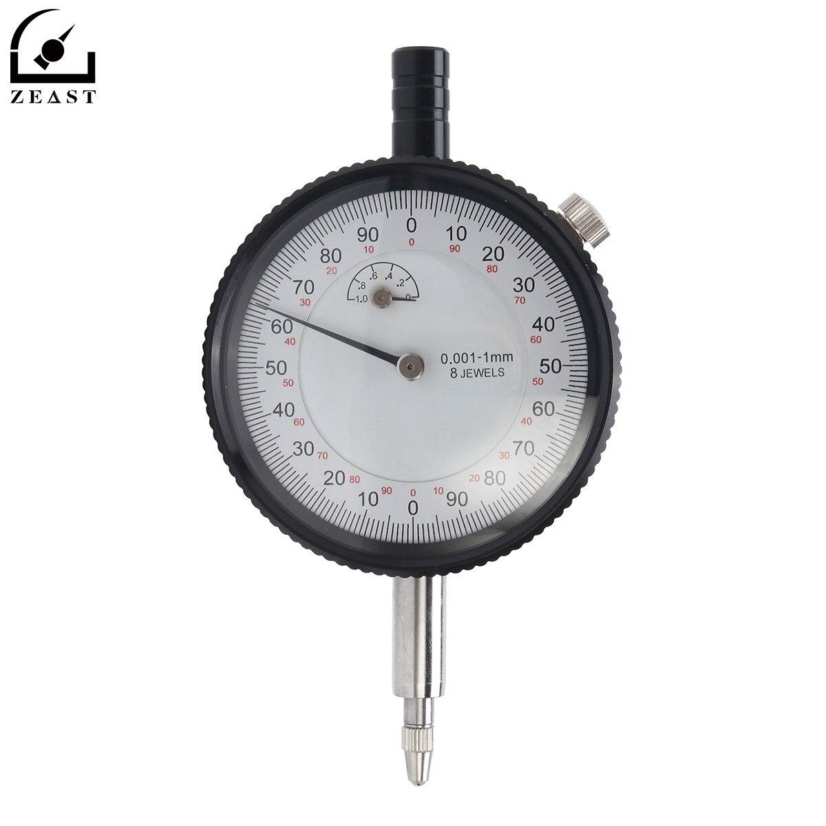 Micron Dial Gauge Test Indicator Precision 0-1mm 0.001mm Indicators Tool<br>