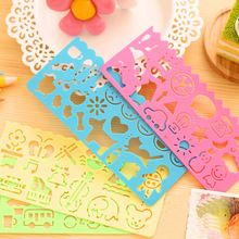 2017 Unisex Plastic Aquadoodle 4pcs Children Painting Drawing Template Rulers Gift for Kids School Supplies Toys Stationery