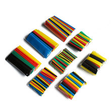 328Pcs 8 Sizes Multi Color Assortment Ratio 2:1 Heat Shrink Tubing Sleeving For Wrap 5 Colors Tube Sleeving Wrap Wire Kit Combo