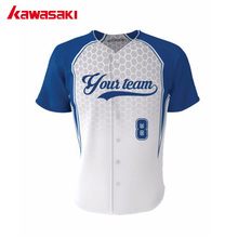 Genuine Kawasaki Custom Men& Women Baseball Jerseys Full Buttons Breathable Youth Fans Practice Softball Jersey Top(China)