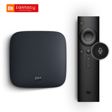 Global Version Xiaomi Mi Box 3 Set-top TV Box Quad Core Android 6.0 Smart Youtube Netflix 4K DTS Dolby HDR Media Player HDMI(China)