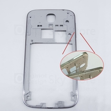 Original Design Phone Housing Front Middle Frame Bezel Battery Cover For Samsung Galaxy S4 GT i9500 i 9500 repair parts