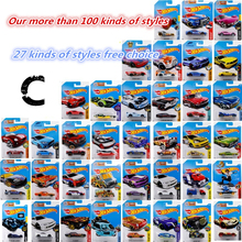 C hot wheels 1:64 Alloy car model Motorcycle Tank Sports Car Shaped Car 27 different styles kids toys Freedom of choice