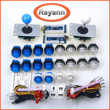 LED Arcade DIY Kit LED USB Encoder to Joystick Arcade Game Parts for USB MAME Controller & Raspberry Pi Arcade Game Console DIY(China)