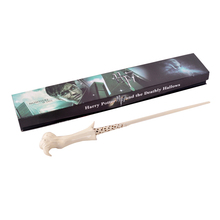 ZXZ 2016 Harry Potter Newest Quality Deluxe COS Lord Voldemort Magic Wands/Stick with Gift Box Packing Christmas Gift(China)