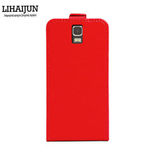 LIHAIJUN High Quality Pu Leather Flip Case For Dexp ixion ES255 Fire Case Cover 5 Colors