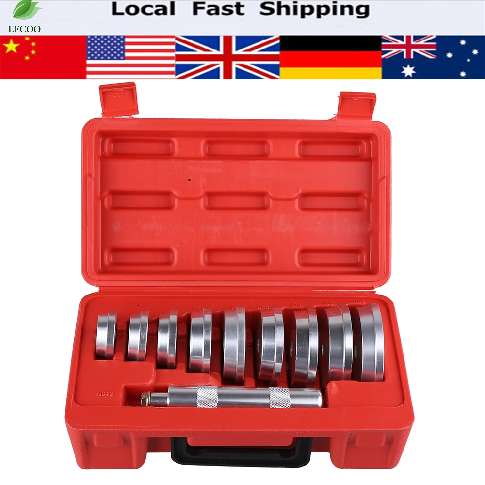 10Pcs Professional Wheel Aluminium Bearing Race Seal Driver Set Garage Tool Car Repair Tool Set(China (Mainland))