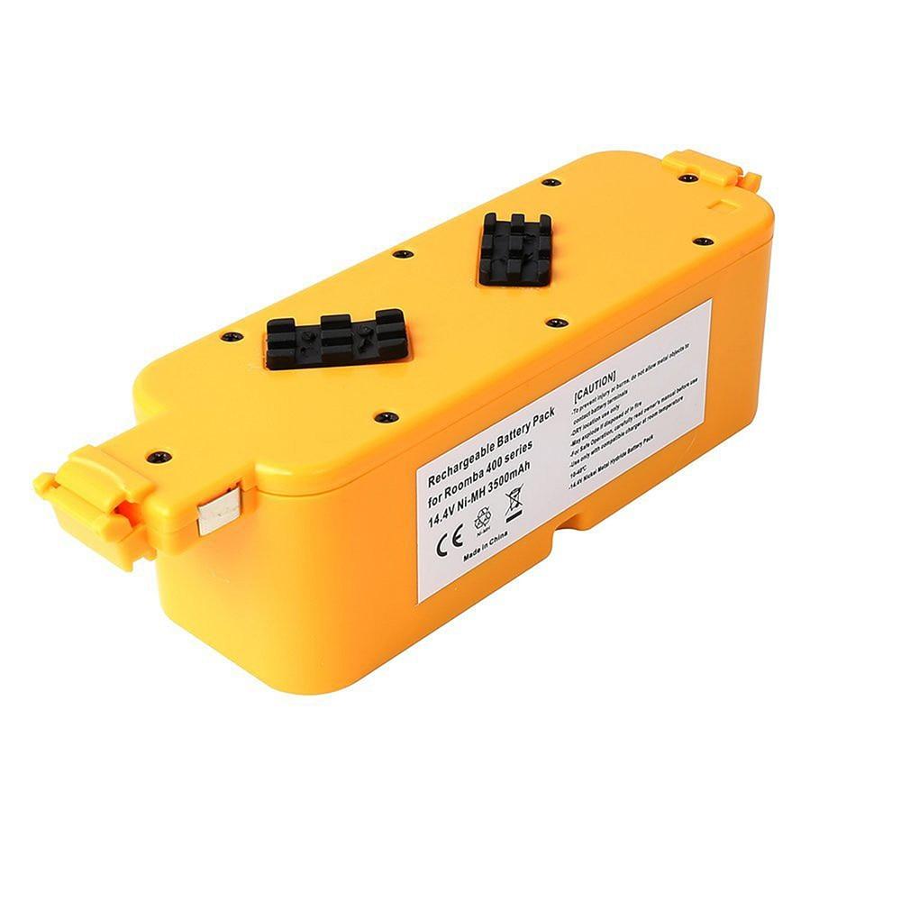 1 pc Battery  For iRobot Room-ba 400 405 410 415 416 418 Series 4000 4100 4105 4110 4210 4130 4232 4905 14.4V 3500mAh VHK43 T50<br>