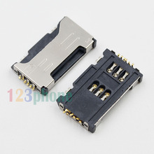 INNER SIM SLOT TRAY SOCKET HOLDER MODULE FOR SAMSUNG GALAXY S DUOS S7562 #F837