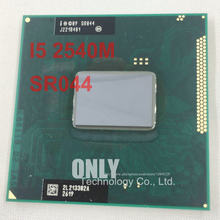 Shipping free original Intel Core i5 2540M CPU 3M 2.6GHz socket G2 Dual-Core Laptop processor i5-2540m for HM65 HM67 QM67 HM76(China)