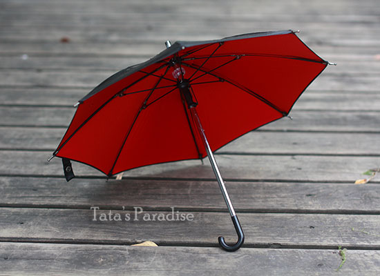 1/3 uncle SD17 BJD SD DD doll accessories mini black umbrella 33cm<br>