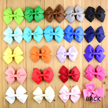 22 pcs/lot , Double Hair Bow Childrens Kids Ribbon Bow Hairbows Hair accessories(China)