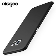 Oicgoo Cases For Samsung Galaxy S7 S7 Edge Case Cover Hard Frosted PC 360 Full Protect Ultra Thin Back Cover For Galaxy S7 edge