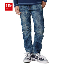 fashion boys jeans 2017 spring kids pants boys clothing winter boys bottoms elastic waist trendy boys jeans(China)
