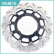 320mm oversize Front Brake Disc Rotor for HONDA XL 350 X R XR 400 SUPERMOTARD CR 500 E 600 650 00 01 02 03 04 05 06 07 08(China)