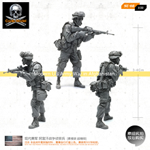 1/35 modern US Army soldiers soldiers Afghan war scout [prime mold super fine] SU-08(China)