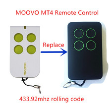 1pcs MOOVO MT4 Remote Control Gate & Garage Door Fob 433.92mhz rolling code free shipping(China)