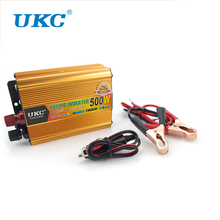 Vehicle 500W Inverter Car Power Inverter Converter DC 12V to AC 220V USB Adapter Portable Voltage Transformer Car Chargers(China)