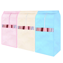 1 PCS New Suit Coat Moistureproof Dust Cover Storage Bag Hanging Garment Wardrobe 3 Colors High Quality