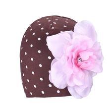 Super Deal Baby girl's Flower Hats Baby Hats hat winter autumn Warm Cap HYM10&00