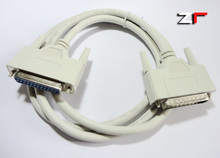 Parallel port extension cable 1.5 meters male to female