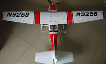 RC plane toy Cessna 182 1410mm wingspan 6ch with flaps, led light epo KIT
