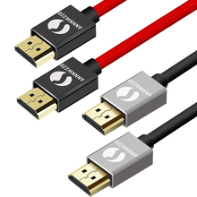 HDMI Cable 1m 2m 3m High-Speed HDMI 2.0 HDTV Cable Supports Ethernet 3D 4K and Audio Return Connects Blu-ray players PS4,Etc(China)