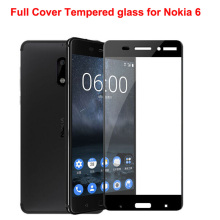 Full Cover 9H Colorful 2.5D Tempered Glass For Nokia 3 For Nokia 6 Ultra thin Screen Protector Protective Film For 4G LTE Phone