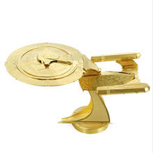Star Trek 1701D enterprise model assembly kits fashion children and adult puzzles toys new style model puzzles toys
