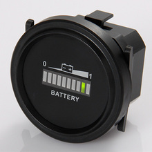 Free shipping Battery Level Indicator Voltmeter for Lawn Care Floor Care Equipment  RL-BI002