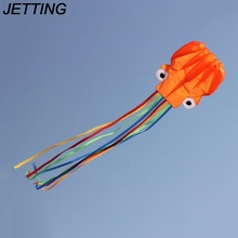 JETTING 1Pc 4M Single Line Beach Octopus Kite Stunt Power Sport Flying Kite Outdoor Activity Toy line not include