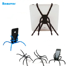 9 colors mini spider Flexible tripod portable Small/Large stand Holder for Ipad iphone phone Samsung Huawei Xiaomi Camera(China)
