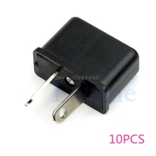 10Pcs US EU To Au Australia Socket 220v Ac Power Plug Adapter Outlet Travel Converter -R179 Drop Shipping