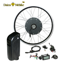 "48V Electric Bicycle Conversion Kit 1000W for 26"" 28"" Motor Wheel with 16AH Bottle Battery LCD volo electrique parts(China)"