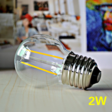 E27 Dimmable LED Lamp 2W 4W 6W 8W Retro Filament Bulb 220V Edison Incandescent LED Bubble Bulb For Indoor Decoration Light