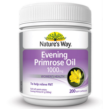 Nature Evening Primrose Oil for women's hormonal balance relieve arthritic pain eczema/dry skin relieve the symptom of PMS
