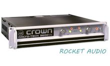 NEW!!!Professional Audio AMP CROWN MA-3600VZ Macro-Tech Series Power Amplifier 1800W-2 Ohms, 1565W-4 Ohms