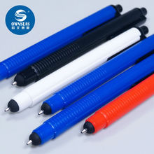 500 pcs/lot Design stylus ball pen for capacitive tablet 2 in 1