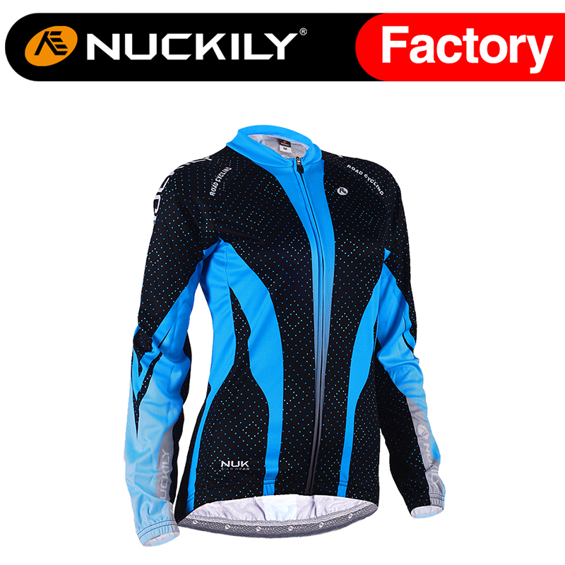 Nuckily Summer womens  breathable long sleeve cycling custom jersey  GC003<br><br>Aliexpress