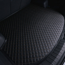Leather Trunk Mat for Lincoln MKZ MKC MKX MKS Navigator MKT Car Tail box mat Boot Carpet Cargo Liner Tray Floor Protector q10