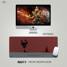 [HFSECURITY] DOTA 2 Mousepad Large Gaming Mouse Pad Keyboard Table Mat Gamer Anime Rectangular Mouse Pad Computer Accessories(China)