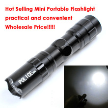 New Portable Mini Best Sale Waterproof LED Flashlight Torch Light Lamp New Hot Mini Handy practical and convenient