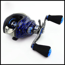fishing reel China Imported stainless steel bearing carretilha pesca Anti-seawater corrosion Baitcasting reel fishing(China)